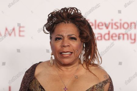 Valerie Simpson poses on the red carpet prior to the Television Academy Hall of Fame induction ceremony, in Los Angeles, California, USA, 28 January 2020.