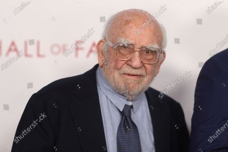 Ed Asner poses on the red carpet prior to the Television Academy Hall of Fame induction ceremony, in Los Angeles, California, USA, 28 January 2020.