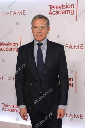 US chairman and CEO of The Walt Disney Company, Robert A. Iger poses on the red carpet prior to the Television Academy Hall of Fame induction ceremony, in Los Angeles, California, USA, 28 January 2020.