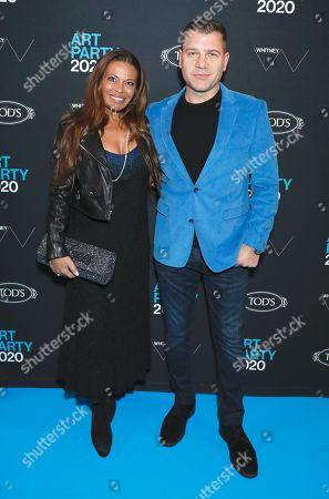 Dolores Catania and Tom Murro