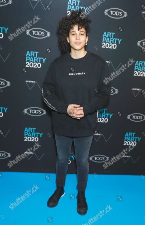 Editorial image of Whitney Art Party, Arrivals, New York, USA - 28 Jan 2020