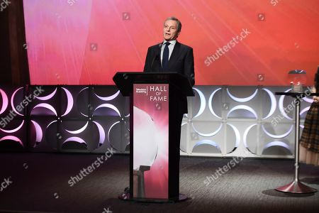 Robert Iger, Chief Executive Officer of Disney is inducted into at the 25th Television Academy Hall of Fame on at the Television Academy's Saban Media Center in North Hollywood, Calif