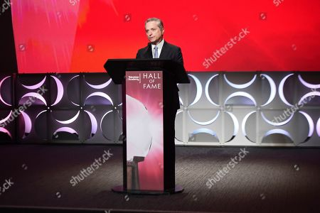 Rick Rosen speaks at the 25th Television Academy Hall of Fame on at the Television Academy's Saban Media Center in North Hollywood, Calif