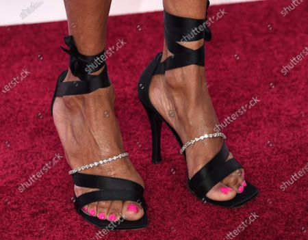 Penny Johnson Jerald, shoe detail