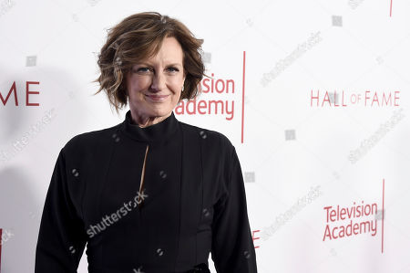 Anne Sweeney attends the 25th Television Academy Hall of Fame on at the Television Academy's Saban Media Center in North Hollywood, Calif