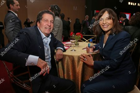 Peter Roth, Orly Adelson. Peter Roth, left, and Orly Adelson attend the 25th Television Academy Hall of Fame on at the Television Academy's Saban Media Center in North Hollywood, Calif