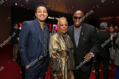 Miles Warren, Barbara Warren, Vince Wilburn Jr. Miles Warren, from left, Barbara Warren and Vince Wilburn Jr. attend the 25th Television Academy Hall of Fame on at the Television Academy's Saban Media Center in North Hollywood, Calif