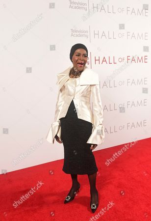 Inductee Cicely Tyson poses for a portrait at 25th Television Academy Hall of Fame at the Saban Media Center on at the Television Academy's Saban Media Center in North Hollywood, Calif