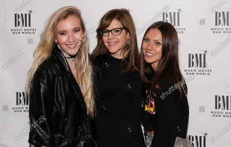 Chloe Caroline, Lisa Loeb and Georgia Ku