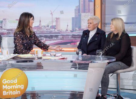 Susanna Reid, Sharon Green, Emma Green