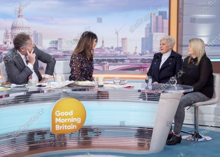 Piers Morgan, Susanna Reid, Sharon Green, Emma Green