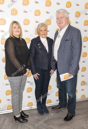 Sharon Green, Emma Green and Peter Fearnley