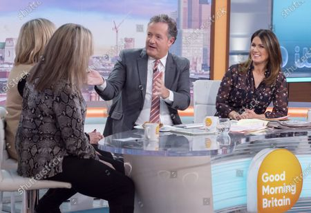 Editorial picture of 'Good Morning Britain' TV show, London, UK - 29 Jan 2020