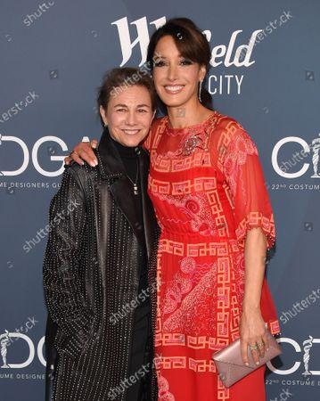 Stock Image of Ilene Chaiken and Jennifer Beals