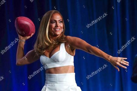 Pepsi Super Bowl LIV Halftime Show Performer Jennifer Lopez Press Conference