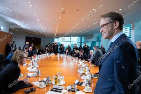Editorial picture of German government Cabinet meeting at the Chancellery in Berlin, Germany - 29 Jan 2020