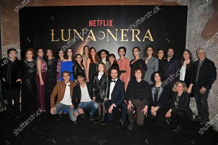 Editorial picture of 'Luna Nera' TV show photocall, Rome, Italy - 28 Jan 2020