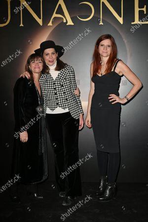Editorial photo of 'Luna Nera' TV show photocall, Rome, Italy - 28 Jan 2020