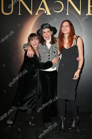Stock Photo of Paola Randi, Francesca Comencini, Susanna Nicchiarelli