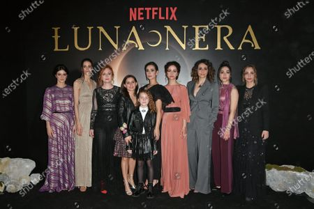Editorial image of 'Luna Nera' TV show photocall, Rome, Italy - 28 Jan 2020