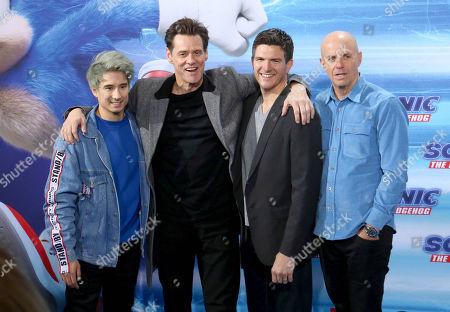 Julien Bam, Jim Carrey, Jeff Fowler, Neal Moritz