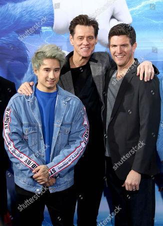 Julien Bam, Jim Carrey, Jeff Fowler