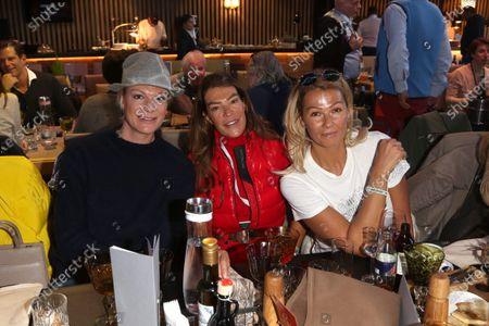 Maria Riesch, Fiona Swarovski, Franzi Franziska van Almsick