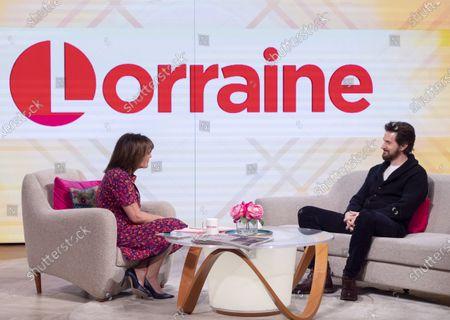 Lorraine Kelly and Richard Armitage