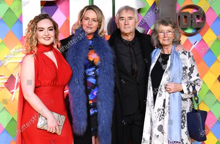 Denis Lawson and family