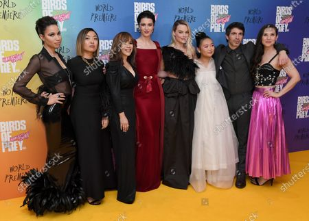 Jurnee Smollett-Bell, Rosie Perez, Mary Elizabeth Winstead, Margot Robbie, Ella Jay Basco, Chris Messina and Christina Hodson