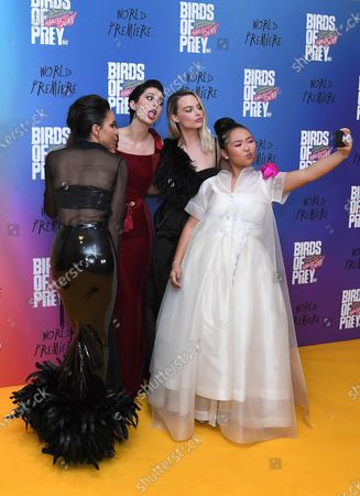 Jurnee Smollett-Bell, Mary Elizabeth Winstead, Margot Robbie and Ella Jay Basco