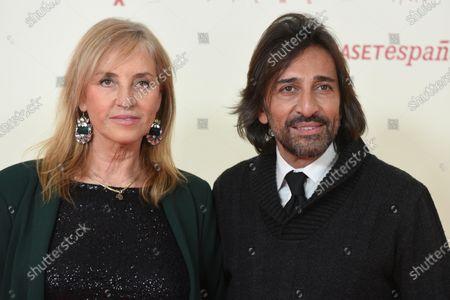 Stock Photo of Mariola Orellana (L) and Antonio Carmona