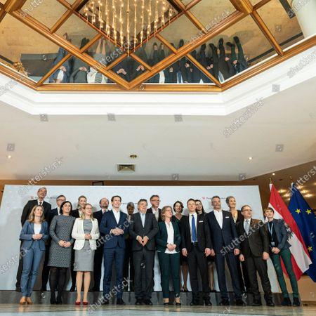 Editorial photo of Austrian government meeting in Krems, Austria - 29 Jan 2020