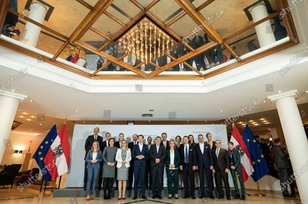 Editorial image of Austrian government meeting in Krems, Austria - 29 Jan 2020