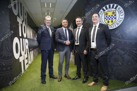 Editorial picture of St Mirren football club press conference, The Simple Digital Arena, Paisley, Scotland, UK - 29 Jan 2020