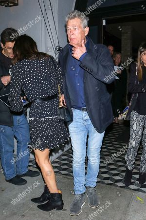 Katharine McPhee and David Foster at Craig's Restaurant