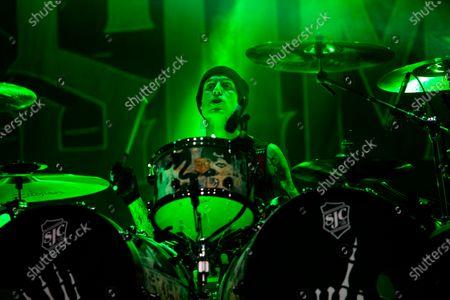 Editorial image of Sum 41 in concert, Milan, Italy - 28 Jan 2020