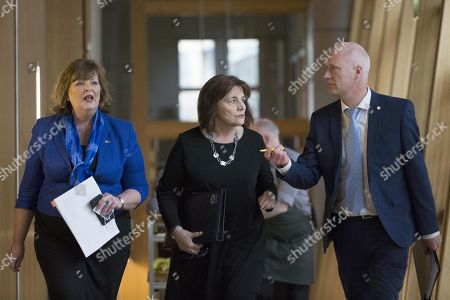 Editorial image of Scottish Government Debate, Recognising Scotland in Europe, The Scottish Parliament, Edinburgh, Scotland, UK - 29 Jan 2020