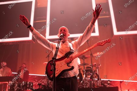 Editorial image of Bombay Bicycle Club in concert, O2 Academy, Newcastle, UK - 27 Jan 2020