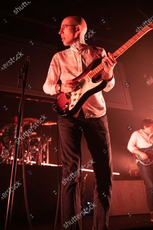 Editorial photo of Bombay Bicycle Club in concert, O2 Academy, Newcastle, UK - 27 Jan 2020