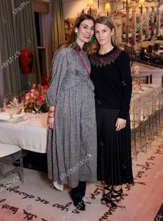 Stock Picture of Maria Kastani & Kinvara Balfour