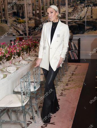 Editorial photo of Stories Parfum Dinner, London, UK - 28 Jan 2020