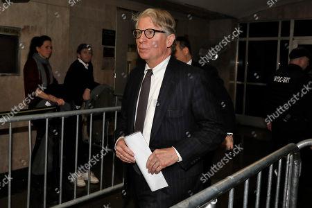 Cyrus Vance Jr. Manhattan District Attorney Cyrus Vance, Jr., leaves the Harvey Weinstein rape trial, in New York