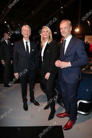 Jean-Claude Narcy, Alice Bertheaume, Ari Vatanen