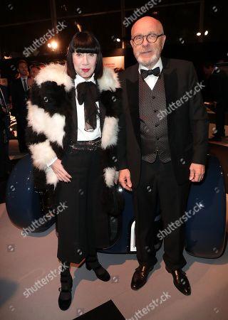 Chantal Thomass and her husband, Michel Fabian