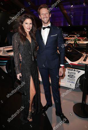 Marion Jolles-Grosjean and Romain Grosjean