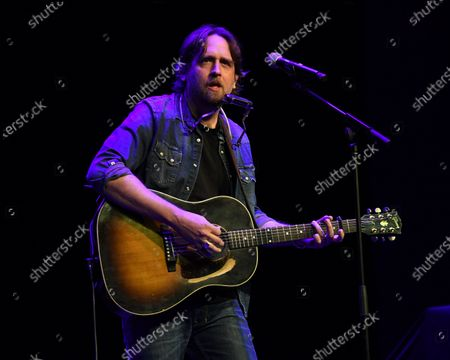 Editorial photo of Hayes Carll in concert at Charles F. Dodge City Center, Pembroke Pines, USA - 28 Jan 2020