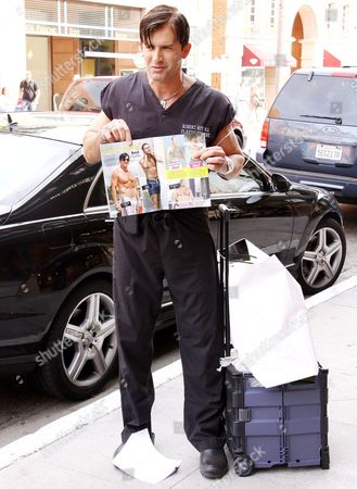 Editorial picture of Dr. Robert Rey, aka Dr. 90210, out and about in Beverly Hills, CA, America - 01 Dec 2009