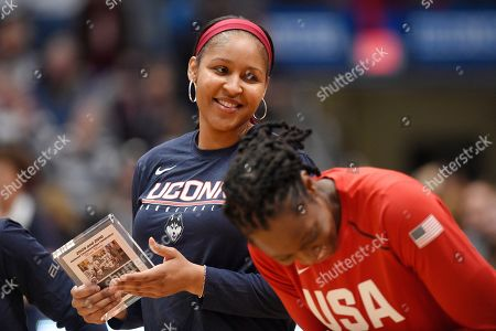 Editorial photo of UConn Basketball, Hartford, USA - 27 Jan 2020