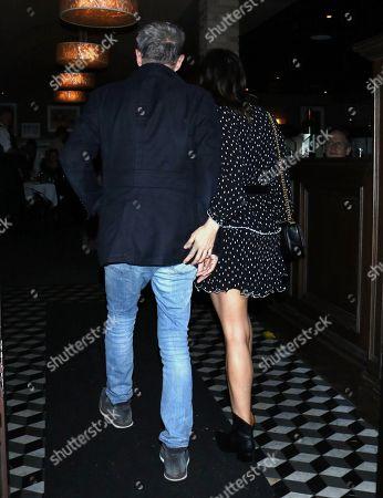 David Foster and Katharine McPhee at Craig's Restaurant